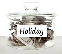 Holiday jar for savings